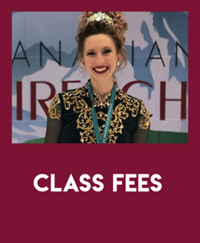 In-Person Class Fees